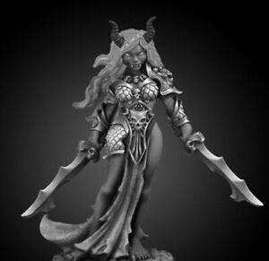 1 x ZIBA FEMALE EFREETI - BONES REAPER figurine miniature d&d jdr dark 44003