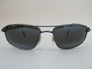 Maui Jim Kahuna Men's Black Aviator Sunglasses Made in Japan MJ 162