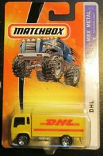 Matchbox DHL Straight Truck Box Van Mail Hauler Cabover Delivery MBX Metal #41