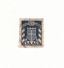Saar O34 -  Coat Of Arms.  Used.    #02 SAARO34