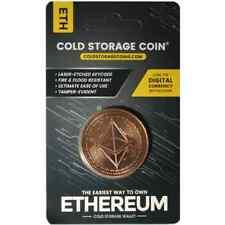 1 oz Etherium  Cold Storage  Copper Round (New)