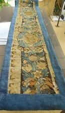 Aubusson valance fragment  French antique tapestry 17th-century