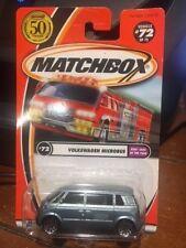2002 Matchbox Kids' Cars Of The Year Volkwagen Microbus #71 FACTORY ERROR