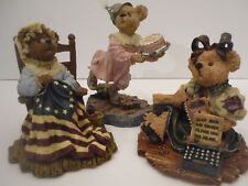 boyd bears figurines Lot of 3 + Free one last picture