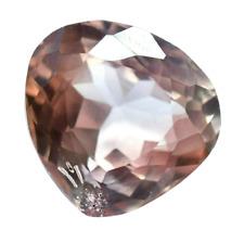 15.80 Ct Natural Pink Morganite Pear Transprent Brazilian Certified Gemstone