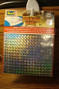 1 Sheet REVELL Peel & Stick DECALS for Pinewood & Pine Car Derby Racer ALPHA A-Z