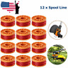 New 12 Pack Replacement Spool Line String Trimmer Weed Eater Cap For Worx WA0010