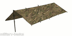 Highlander HMTC MTP Tarp Shelter Sheet 250 x 170 cm rechteckig multitarn camo