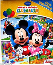 DISNEY MICKEY MOUSE CLUBHOUSE,TODDLERS,FIRST LOOK & FIND,LEARNING ACTIVITY BOOK