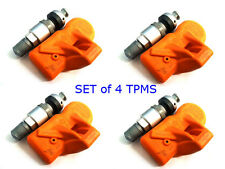 HUF BERU BMW MINI TPMS Tire Pressure Monitor Sensors RDE012 (Set of 4) NEW