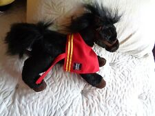 WELLS FARGO MIKE INSURANCE BLACK HORSE ADVERTISEMENT LEGENDARY PONY PLUSH NO TAG