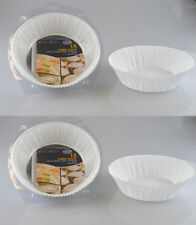Pack of 30 Disposable Cake Cases 18x6cm Microwave Safe by Royle Home