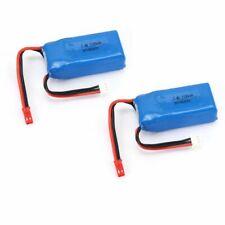 2 un. 1100mAh 7.4V 25C JST Plug Lipo Batería A949-27 para 1/18 Wltoys A949 A959