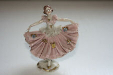 Porzellan Figur Tänzerin mit Stempel