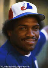 Original 35MM Color Slide Tim Raines Montreal Expos