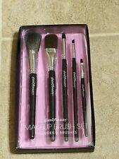 MAKEUP BRUSH SET 5 BRUSHES BY GLAM & BEAUTY