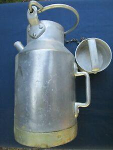 Pot au lait ancien Aluminium épais 4 litres