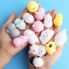 15 Pack Cute Soft Squishy Random Animal Squishies Stress Relief Toys Mochi Kawai