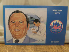 BOB MURPHY (1969 NEW YORK METS) POST CARD