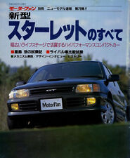 [BOOK] All about Toyota Starlet New Model Report 79 EP82 EP GT Si Gi X NP Soleil