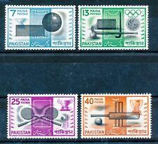 PAKISTAN 1962 SPORTS BLOCKS OF 4 MNH