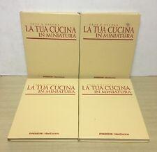 80576 Crea e Decora - La tua cucina in miniatura (4 Vol) - De Agostini 2001