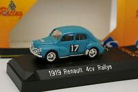 Solido 1/43 - Renault 4CV Rallye Tour de France 1954