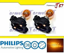 Philips PY24W SV 12274 5200 Silver 24W Two Bulbs Light Turn Signal Replacement K
