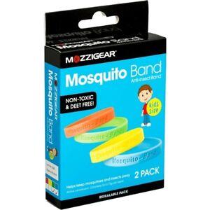 Mozzigear Kids Mosquito Bands 2 wrist band pack