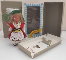 Coffret 17 cm ouest allemande bavaroise fille Clockwork Dancing Doll Sweet Heart