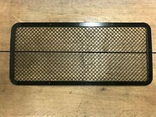 New Front Mesh Grille Stainless Steel Black Mesh Fits Land Rover Defender 90 110
