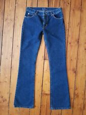 "EARL JEANS New Ladies Dark Blue Bootcut Jeans Mid Rise Size 26 L34"" NWT"