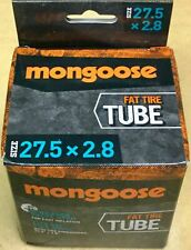 """Mongoose Fat Tire Tube Schrader Valve 27.5"""" x 2.8"""" fits Fat Tire Bikes"""