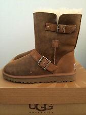 UGG Womens Sz 5 Classic SHORT Dylyn Sheepskin Winter Boots 1001202 BJCE Bro