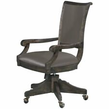 Beaumont Lane Swivel Office Chair In Weathered Charcoal
