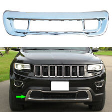 1x Car Chrome Front Fascia Bumper Applique Fit For Jeep Grand Cherokee 2014-2016