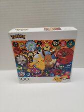 Pokemon 100 Piece Jigsaw Puzzle-Pikachu-Eevee- Buffalo Games *NEW*