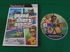 Playstation 2 PS2 Game GRAND THEFT AUTO VICE CITY STORIES w Case Black Label VG+