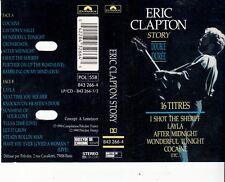 K 7 AUDIO (TAPE)  ERIC CLAPTON *STORY*