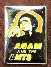 Pin Adam Ant Marco Pirroni Miall Vintage Adam And The Ants Rock'N'Roll Enamel