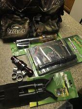 Nwtf Red Head Fanny Bag 2 Primos Deer Calls Gun Bipod Duck Call & Bands Package