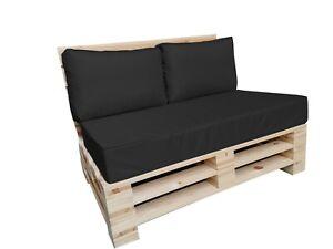 Cuscini per mobili in pallet impermeabili con cuciture a listello sfoderabili