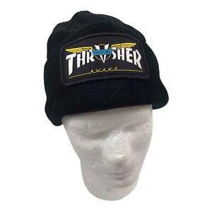 Beanie Exclusive Thrasher Awake Skateboard + Venture Trucks Wings Logo Black