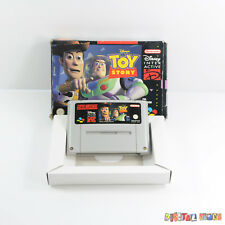 Toy Story - Boxed - GOOD CONDITION - Super Nintendo SNES Game PAL