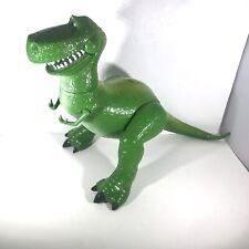 "Disney Store Pixar Toy Story 13"" Rex Talking Dinosaur Figure Tested & Works F1"