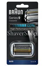 New Braun 92S Series 9 - 9095Cc 9040 9090 9240 9290 9299 Shaver Foil+Cassette!