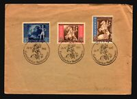 Germany 1942 Euro Post Congress Series on Cover / Edge Damage - Z16742