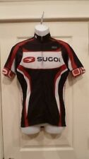 New Sugoi Men's RSE S/S Jersey Black/Red/White Large Cycling Tri