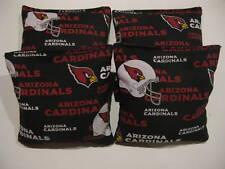 ARIZONA CARDINALS Cornhole Bean Bags 4 ACA Regulation Bags Baggo Toss Tailgate