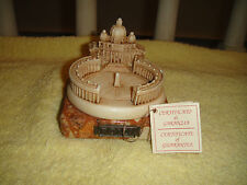 Lorenfa Roma Italy Sculpture Of Rome-Marble Base-Great Detail-Handmade-Great!